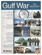 Thumbnail of Gulf War 20th Anniversary Poster with timeline and photos