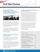 Gulf War Review July 2010 newsletter cover page