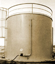 Herbicides storage tank
