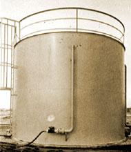 Herbicides Storage Tank