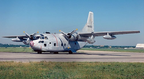 Image of a Fairchild C-123K Provider aircraft.