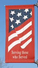 Serving Those Who Served flag