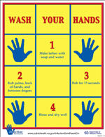 picture regarding Free Printable Hand Washing Posters known as Hand Cleanliness Posters - Community Conditioning