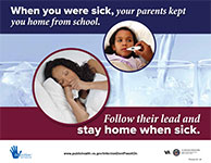 Prevent 22- Stay Home When Sick
