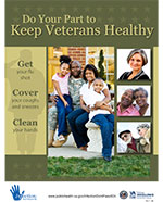 Poster - Do Your Part to Keep Veterans Healthy