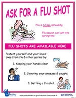 Flu 5 - Ask for a Flu Shot