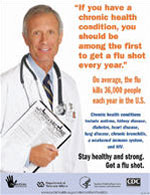 Flu 16 - If You Have a Chronic   Health Condition