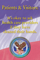 Patients and Visitors: It's Okay to Ask Health Care Providers If They Have Cleaned Their Hands