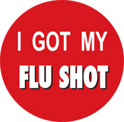 I Got My Flu Shot sticker