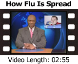 How Flu Is Spread video, length: 02:55