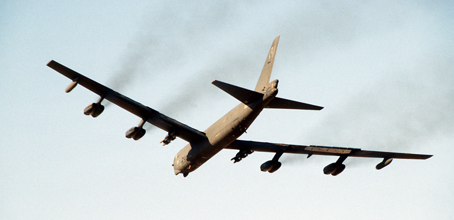 U.S. Air Force B-52G Stratofortress aircraft.