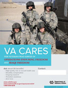 Thumbnail of VA Cares poster OEF/OIF - Crew