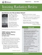 Ionizing Radiation Review cover page