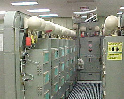 Image of the LORAN transmitter
