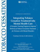 Cover of Integrating Tobacco Cessation Treatment into Mental Health Care